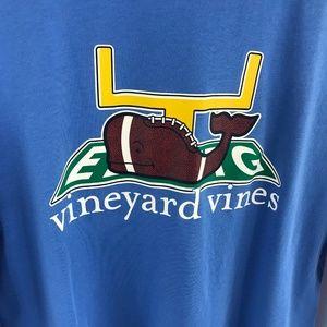 Vineyard Vines Tops - Vineyard Vines Long Sleeve Tee Football Themed
